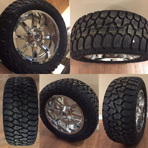 NEW Fuel Offroad 20x10 on NEW 305/55R20 AT Tires with TPMS
