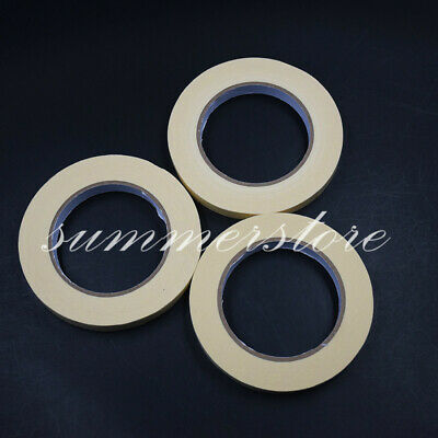 3 Rolls 3 Sizes Dental 50m Defend Steam Autoclave Sterilization Indicator Tape