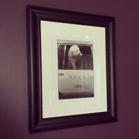 Bichon Frise NYC Taxi Cab Framed Photograph