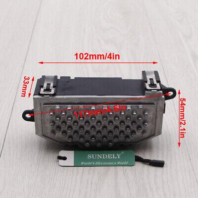 3C0907521F Heater Blower Motor Fan Resistor Fits GTI Jetta Passat Audi A3 N8P6