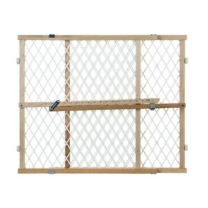 NorthStates Diamond Mesh Expandable Pressure Mount Baby/Pet Gate