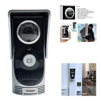 NEW WIFI Video Phone Wireless Digital Peephole Viewer Camera Intercom Doorbell