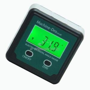 Digital Angle Gauge Protractor Inclinometer Accurate Measuring Machine-DRO