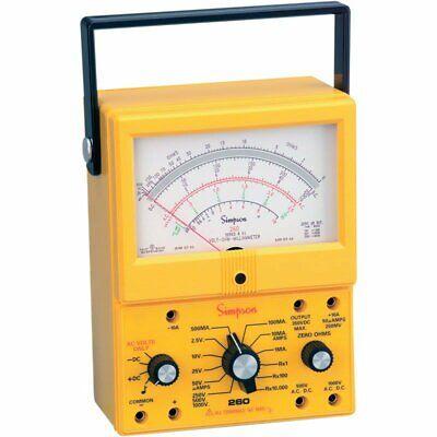Simpson 260-8xi Analog Multimeter Vom