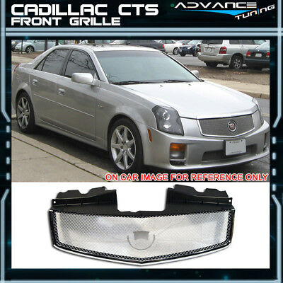 Fits 03-07 Cadillac CTS V Stainless Mesh Grill Grille Brand New