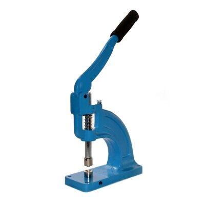 Aleko Grommet Machine Hand Press Professional Grade Eyelet Psgm01 And 2 Die Sets