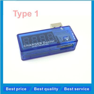 Usb Charging Currentvoltage Detector Voltmeter Ammeter Digital Display Mini