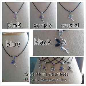 Girls handmade necklaces