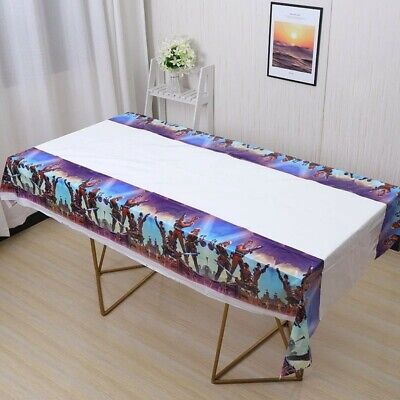 Tablecloth Table Cover Kids For Birthday Party Tableware PLASTIC