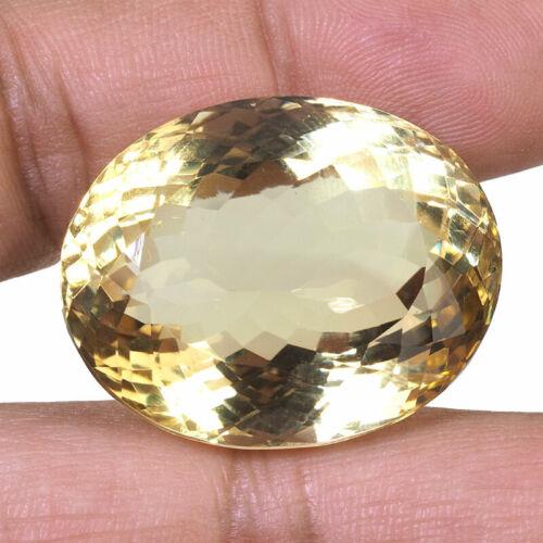 VVS 93.75 Cts Natural Citrine 31.9mm Huge Pendant Size Finest Quality Gemstone