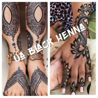 Black Henna Tattoos by UA Artist