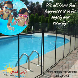 Safety removable pool fence Brockville : Child Safe Fence