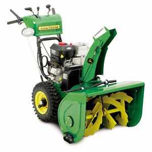 John Deere 342-cc 30-in 2-Stage Electric Start Gas Snow Blower