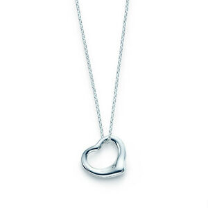 Tiffany & Co. Elsa Peretti® Open Heart pendant for sale