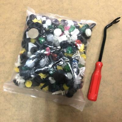 500Pcs Push Pin Mixed Door Trim Panel Clip Fastener Bumper Rivet Retainer w/tool (Tucson Spectrum)