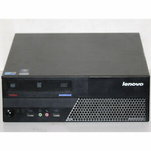 Lenovo MT-M7303 Desktop PC SFF Core2Duo 3GHz 4GB RAM DVDRW 160GB