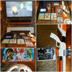 MEGA Wii U DELUXE PACKAGE / SUPER ENSEMBLE Wii U DELUXE 32G
