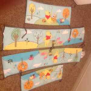 Baby crib bumpers 4pieces