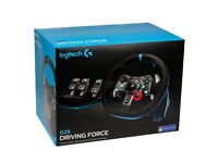 Brand new, unopened Logitech G29 steering wheel! For PS4 or PC
