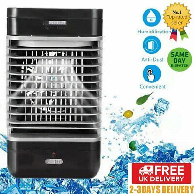 Air Conditioner Cooler Humidifier Purifier Fan Portable Cooling Flow Filter Home