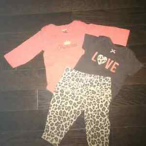 Gently Used 3 month Baby Girl Clothes London Ontario image 1