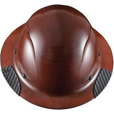 NEW LIFT SAFETY HDF-15NG DAX FULL BRIM NATURAL HARD HAT w/ RATCHET SUSPENSION