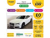 Audi S5 FROM £99 PER WEEK!