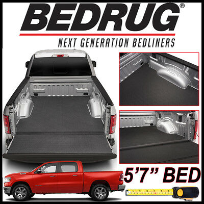 "BEDRUG BedTred IMPACT Bed Liner Mat fit 2019 Dodge Ram 1500 NEW BODY w/ 5'7"" BED"