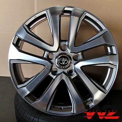 22  Factory Style Gunmetal Wheels Fits 5X150 Toyota Tundra Sequoia Rims