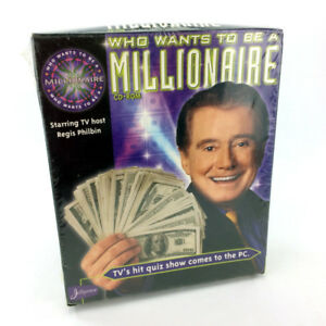 Who Wants To Be A Millionaire PC Video Game Windows 95/98