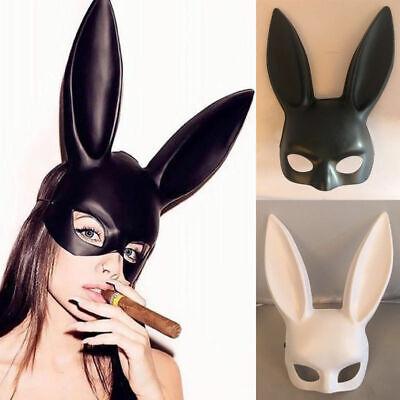 Halloween Long Ears Rabbit Bunny Mask Party Costume Cosplay Masquerade Women - Bunny Ears Halloween