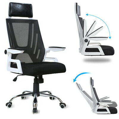 Durable Ergonomic Conference Chair Mesh Office Chair Armrest Adjustable 250 Lbs