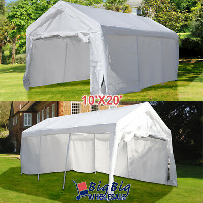 10'x20' Portable Garage Carport Car Shelter Outdoor Canopy P