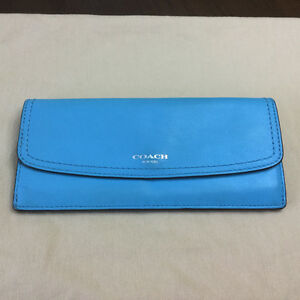 COACH Leather Legacy Slim wallet