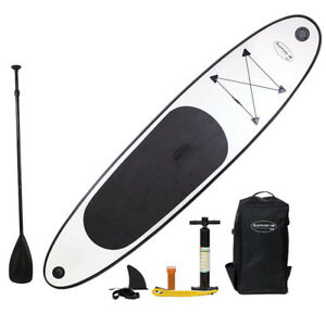 White Lightning 11ft Blue Water Inflatable Stand Up Paddle Board