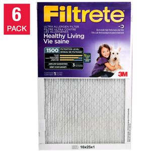 3M Filtrete Furnace Filters, 6-pack