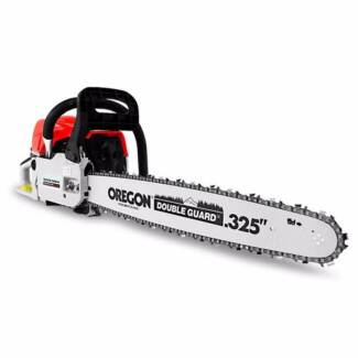 "Latest Powerful 58cc 20"" Petrol Chainsaw with Oregon Bar & Chain Fairfield East Fairfield Area Preview"