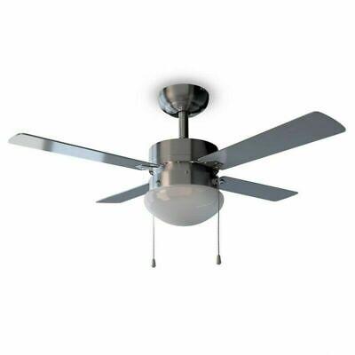 Ventilador De Techo CECOTEC EnergySilence Aero 450 / Luz / 50W