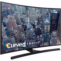 BRAND new Samsung 65 inch Curved 4K UHD smart tv #: UN65JU6700