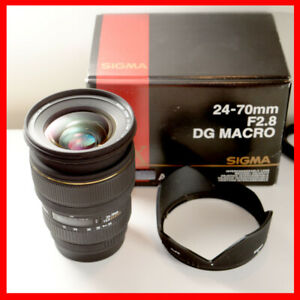 Sigma 24-70mm F2.8 lens for Canon, 1 scratch