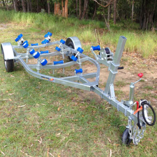 Swiftco 4 Metre Boat Trailer Wobble Rollers Molendinar Gold Coast City Preview
