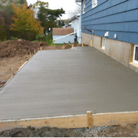 Concrete placing and finishing