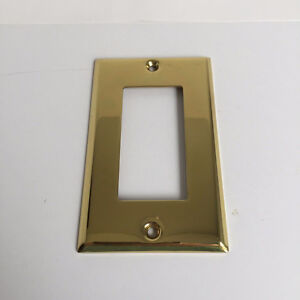 Traditional Brass Decora Switch Cover Plates