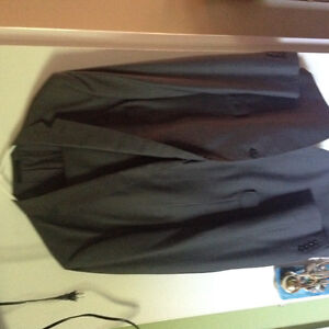 Two men's suits purchased at Moore's
