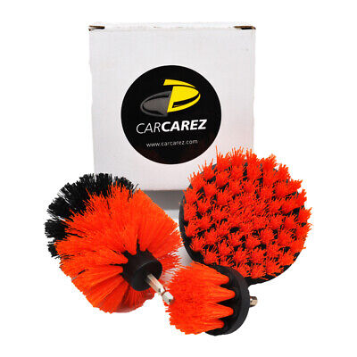 Drill Brush Attachments Scrubber for Car Carpet Wall Tile Cleaning MEDIUM DUTY