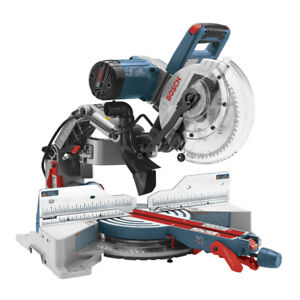 """Bosch Dual Bevel Axial Glide Mitre Saw 10"""" + Stand - CHEAP!"""
