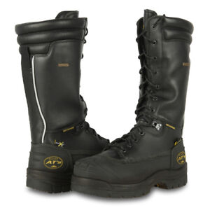 Oliver 14in Leather Lace-Up Mining Boot