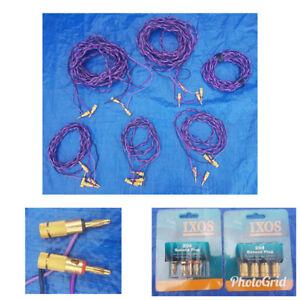Audio Cables: High End IXOS Cables, THX, Fibre Optic