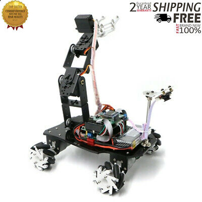 Mecanum Wheel Robot Car Chassis Mechanical Robotic Arm Wo Suspension System