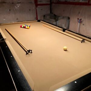 Black Crown Tournament Style Pool Table